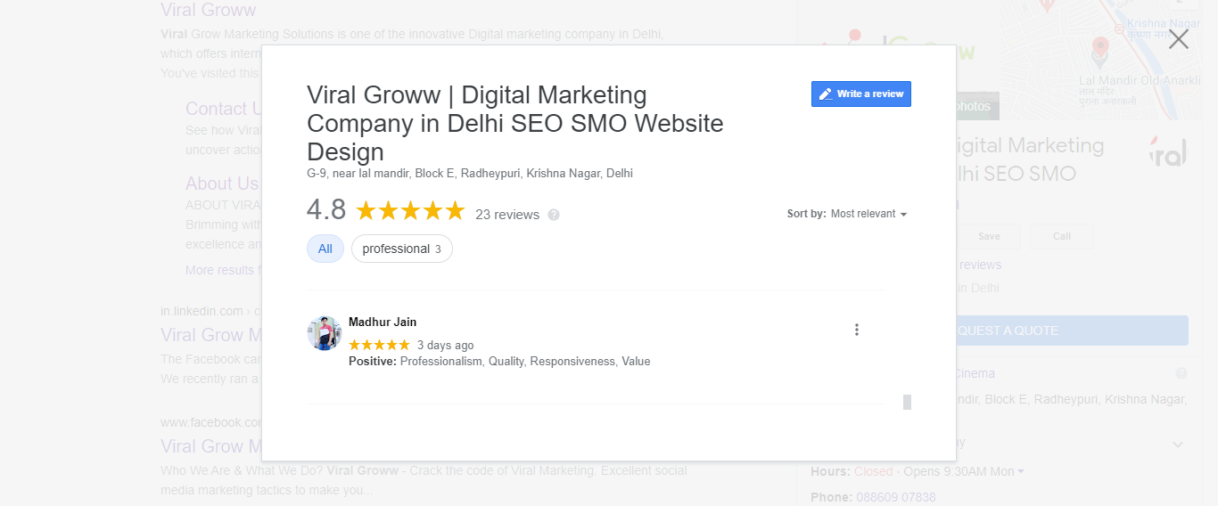 review for viral groww