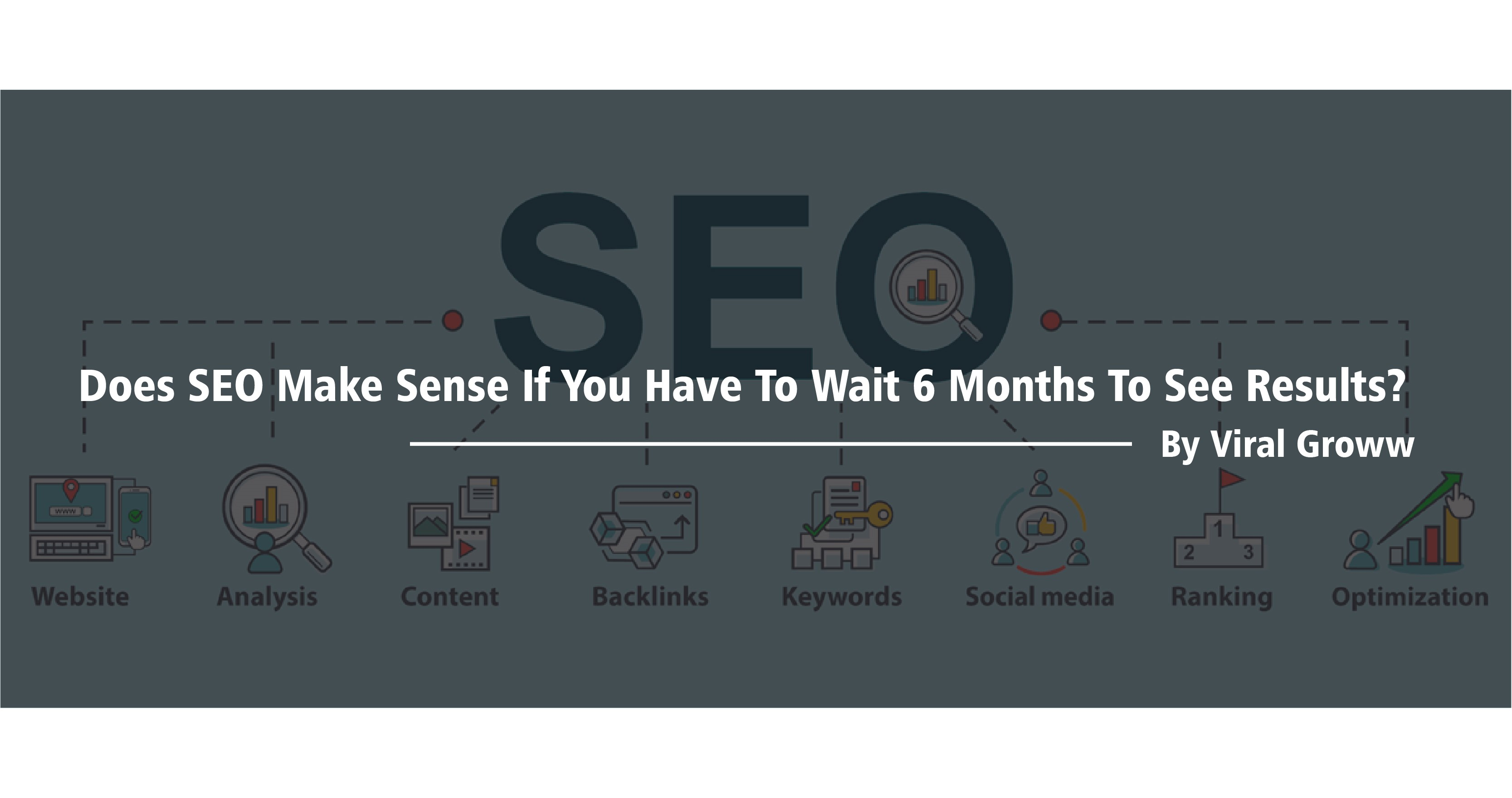Does SEO Make Sense If You Have To Wait 6 Months To See Results?